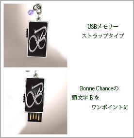 USBメモリーストラッフタイプ